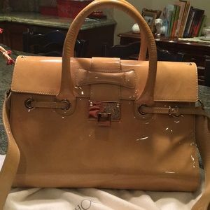 Authentic classic Jimmy Choo Rosalie satchel